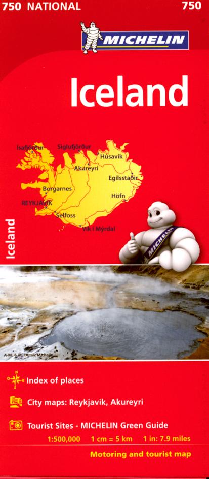Osta Islannin Tiekartta Autoliiton Verkkokaupasta