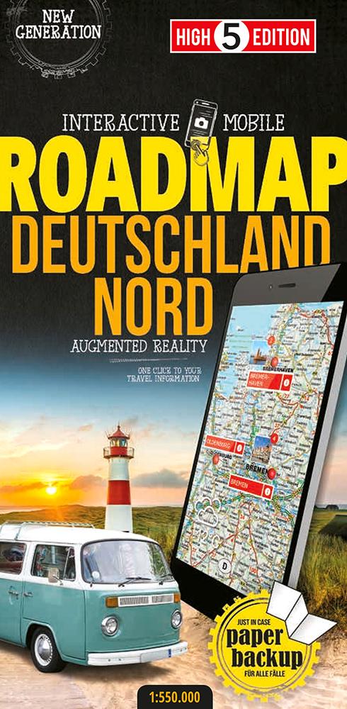 Osta Saksa Pohjoinen Tiekartta Autoliiton Verkkokaupasta