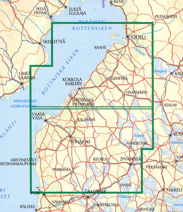 Länsi Suomen Kartta